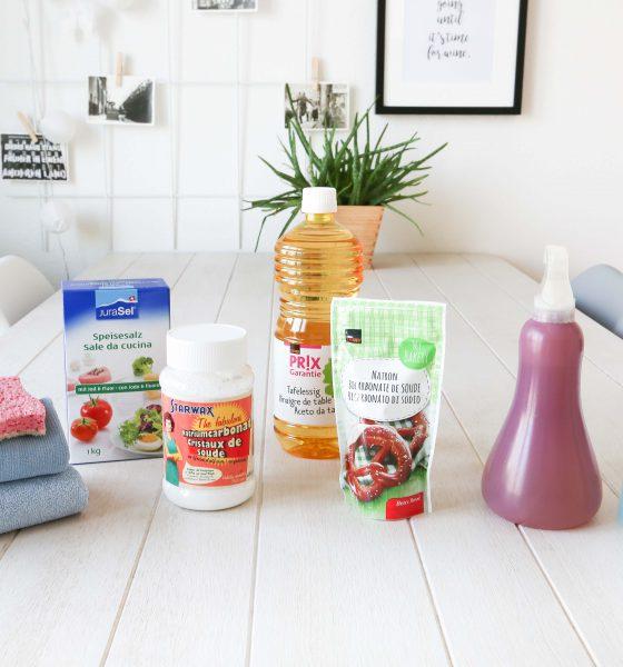 Nettoyer sa maison avec des produits naturels