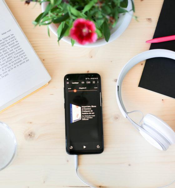 Écouter des livres avec Audible