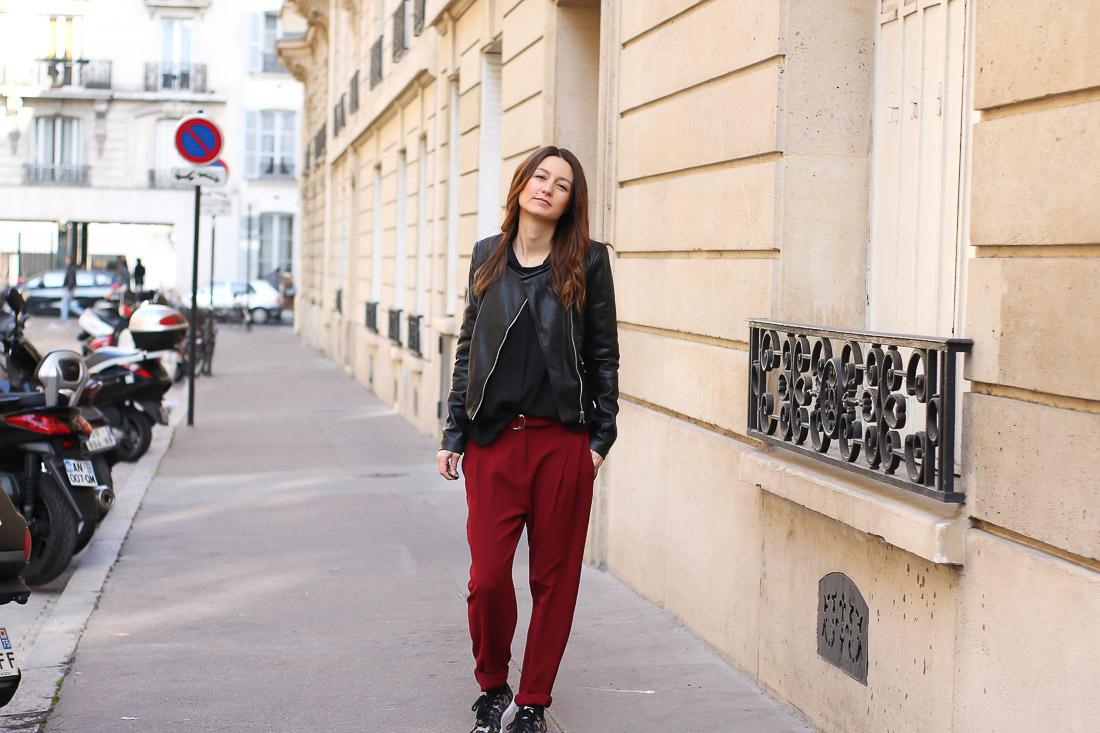 pantalon-rouge-blouson-noir1