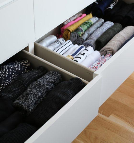 La méthode de Marie Kondo pour ranger ses vêtements
