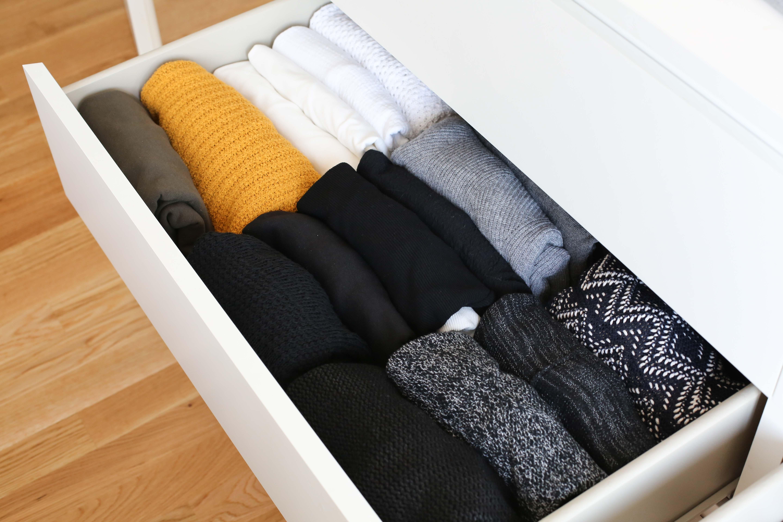 La méthode de Marie Kondo pour ranger ses vêtements - Ally Bing