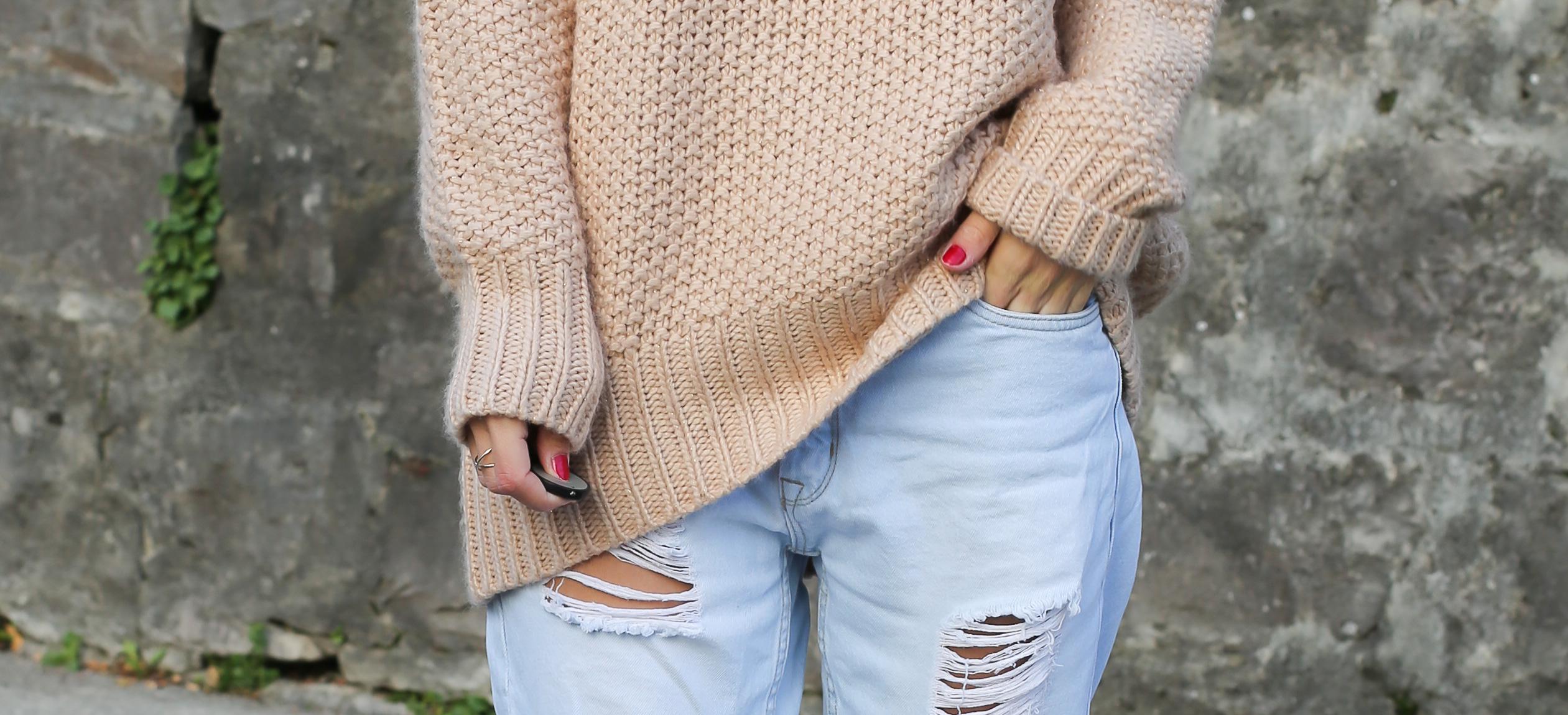 blog-mode-suisse-veste-blanche-perles-pull-rose5