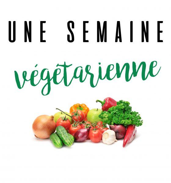 Une semaine végétarienne