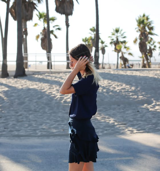 Sous les palmiers de Los Angeles