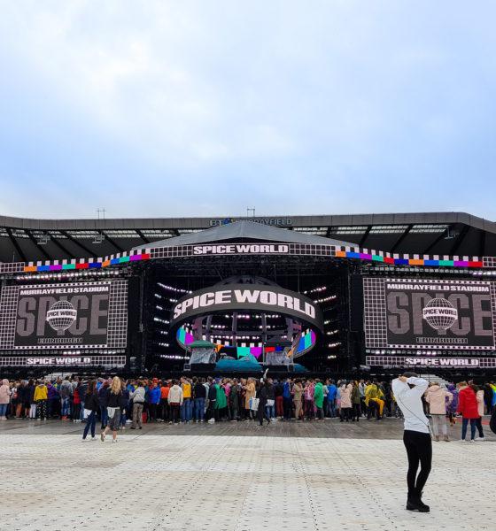 Le concert des Spice Girls à Edimbourg
